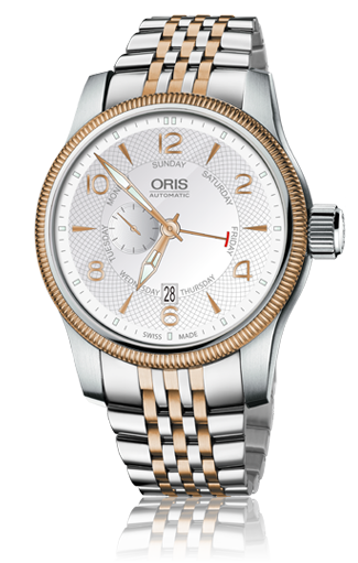 Oris Big Crown - Oris Big Crown Small Second, Pointer Day 01 745 7688 4361-07 8 22 32