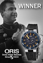 "Congratulations to the winner of the ""My Oris and I"" Contest!"