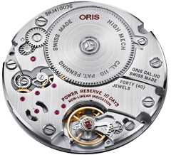 Movements Movement 110 10-day power reserve