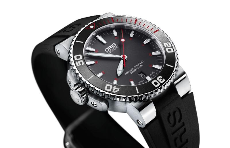Oris Aquis Red — лимитированные часы, отражающие и защищающие красоту Красного моря