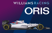 Gane un reloj Oris Williams Day Date o Accesorios de un coche Williams Fórmula Uno