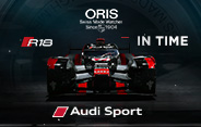 Oris Audi Sport In Time Competition 2016