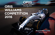 Oris Williams Competition 2016
