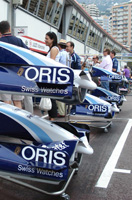 Oris in the Street Canyons of Monaco