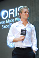 Oris and Nico Rosberg drive the crowds wild in Hong Kong