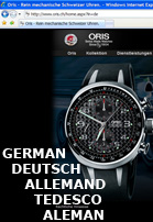 Oris.ch – also available in German!
