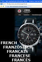 Oris.ch – French version now online.