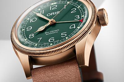 Oris  Швейцарские часы из Хёльштайна, с 1904 года