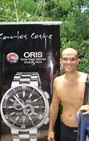 Carlos Coste finds underwater Oris treasure