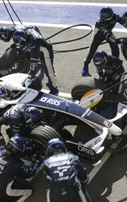 A memorable year in motor sport for Oris with Williams
