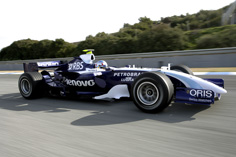 The FW29 in action on the track.