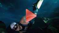Carlos Coste sets Guinness world record for freediving