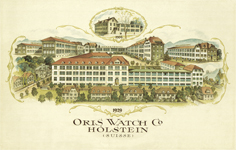 Oris factories 1929.