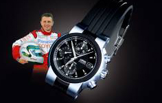 Allan McNish e il suo Oris TT1 Limited Edition, 2002