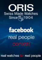 Take part on the Oris Aquatic and Diving Photo Contest on Facebook